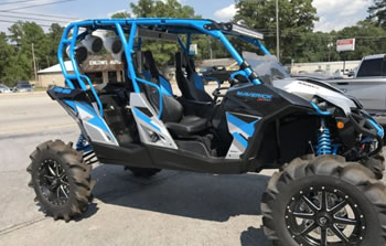 Golf Cart, ATV & UTV Customization